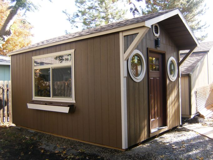 custom storage shed