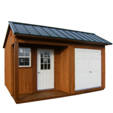 half eave shed options