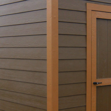 lap siding shed option siding or