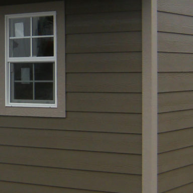 vinyl siding shed option siding or