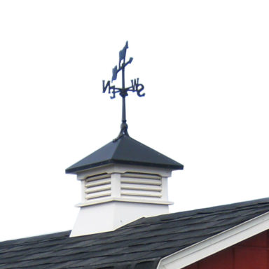 cupolas and weather vanes shed options or