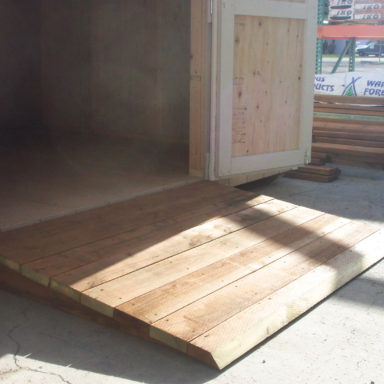 ramps shed quote estimate