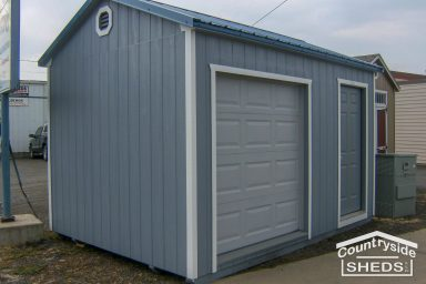 blue shed ideas