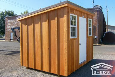 lean to wood shed ideas