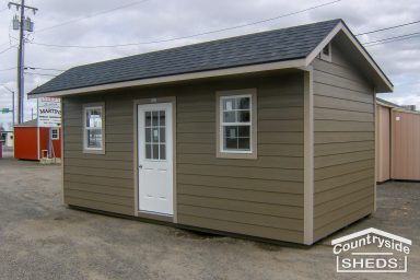 quaker with residential door shed ideas