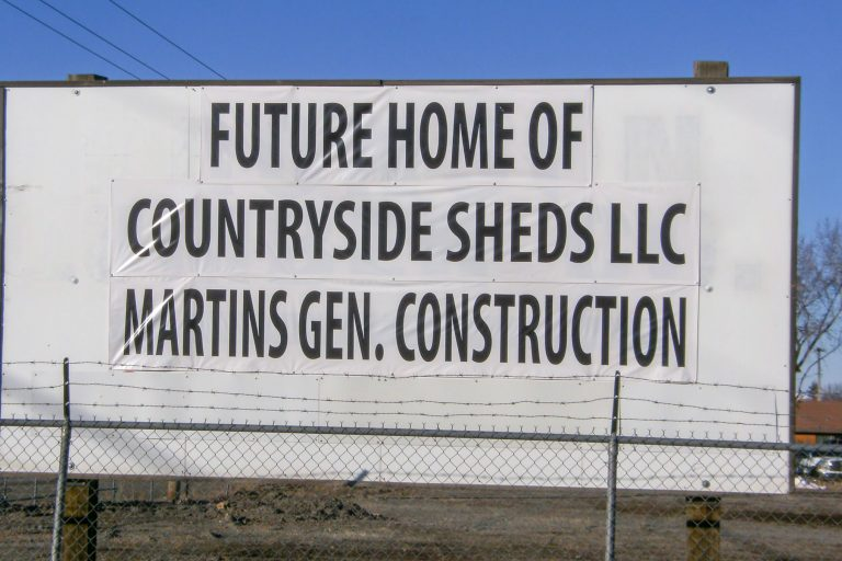 the future home of countryside sheds