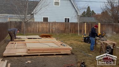 onsite shed construction in oregon and washington