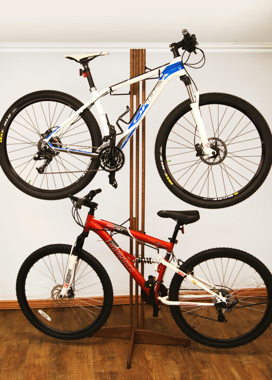 bike shed bike rack