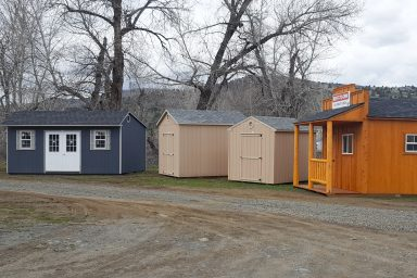 shed lot in john day polaris