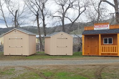 sheds and cabins in john day