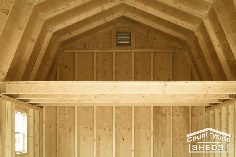 loft on high barn shed 3