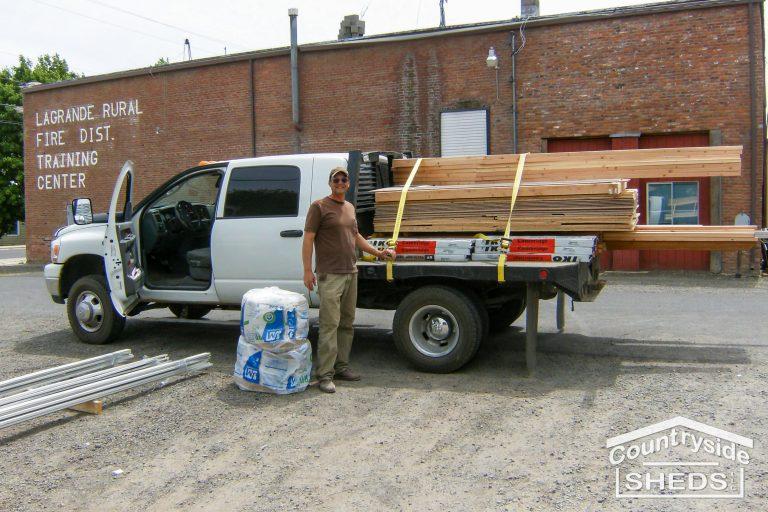 shed kit shed option