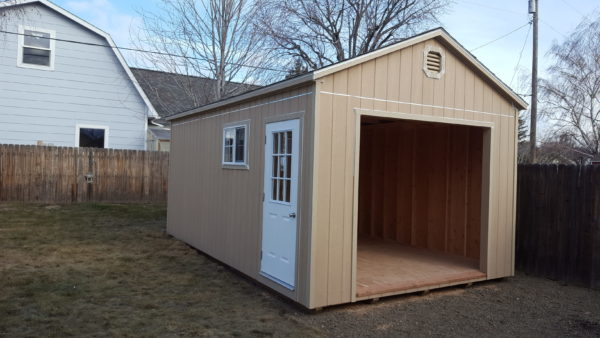 prebuilt sheds or