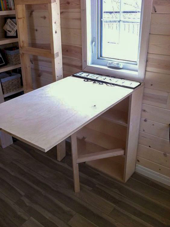 small cabin living9