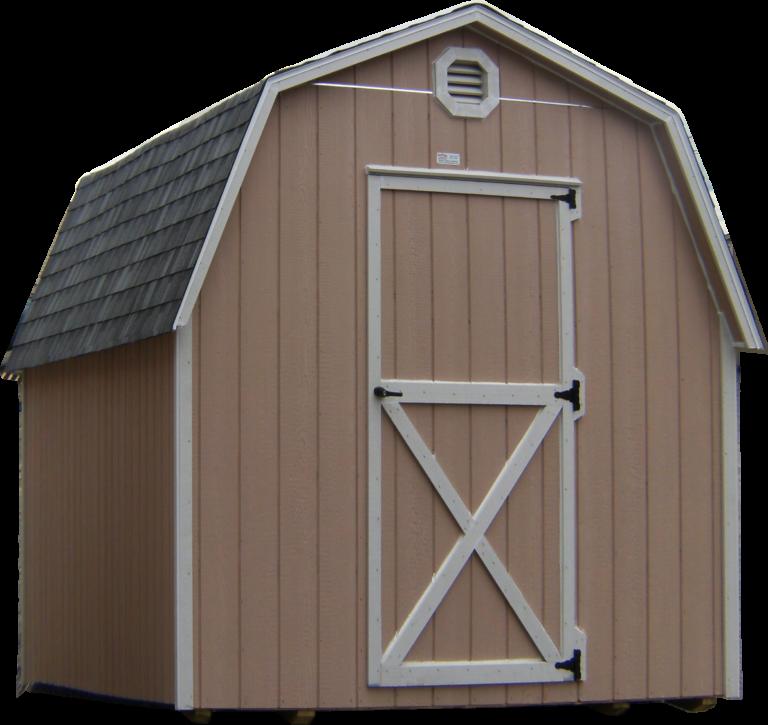 large mini barn or