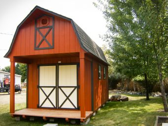 9 10x10 shed kits in island city oregon