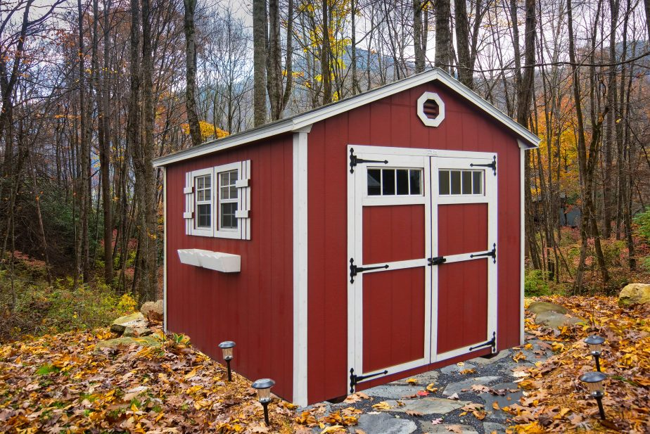 wood storage shed near me or