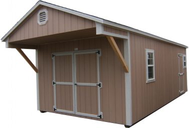 gable wood storage shed la grande