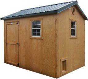 gable wood storage shed weiser or