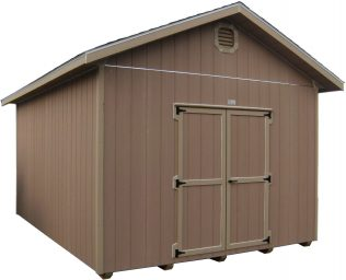wood storage shed in baker city