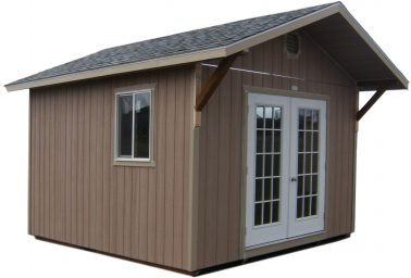wood storage shed in brogan or