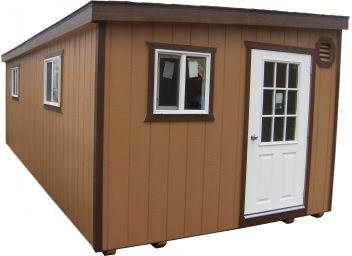 modern shed in stanfield or
