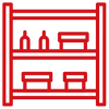 spring cleaning storage shed icon