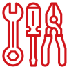 tool storage shed icon