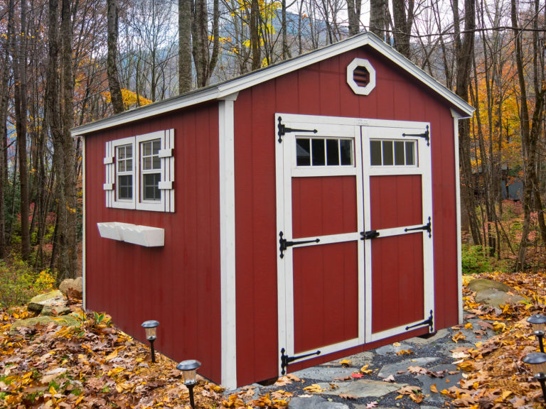gable outdoor storage shed 2