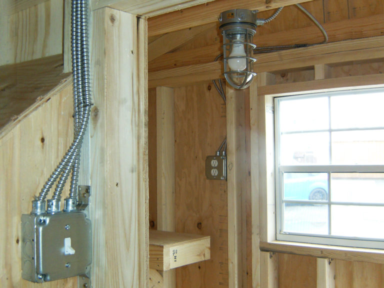 electrical package for hen house