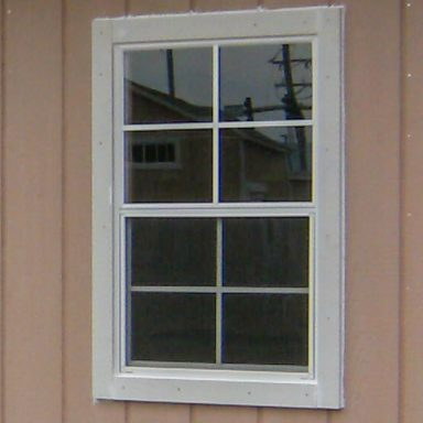 standard window trim