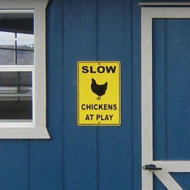 oregon hen house sign design