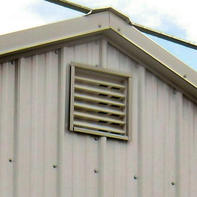 screened gable vents
