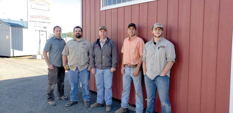 about oregon shed builder